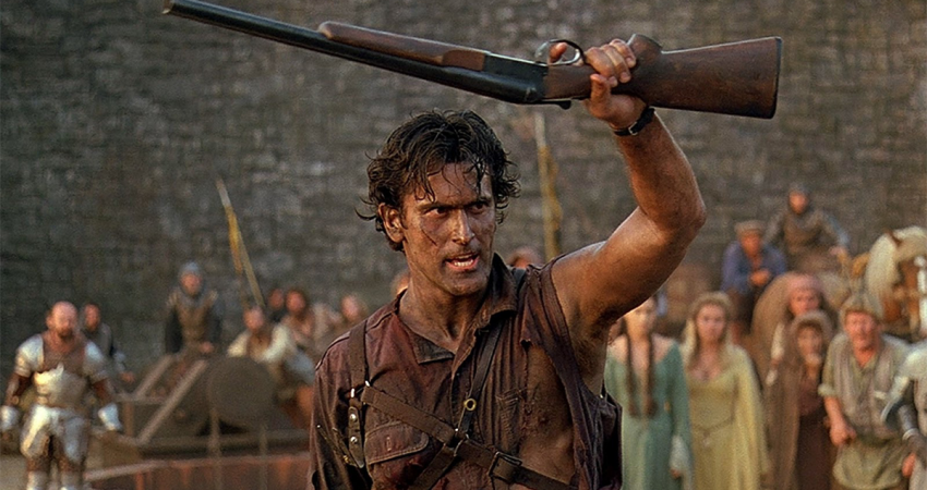Ash Williams and his 'Boomstick'