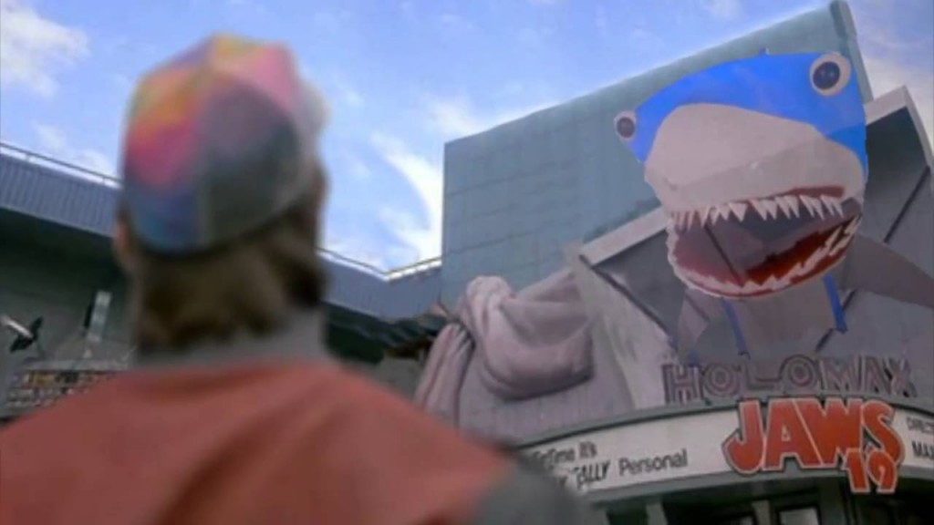 Back to the future day - Back to the future part II Jaws 19