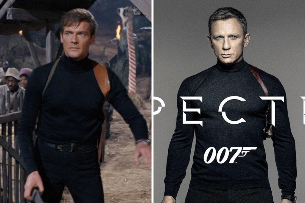 James Bond Spectre Moore vs Craig