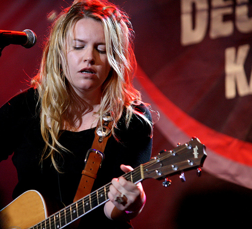 Karen Zoid in 2009. Picture by Paolina Rosa, licensed under the Creative Commons Attribution-Share Alike 3.0 Unported