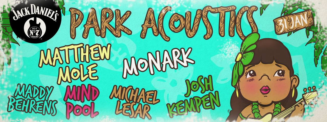 This weekend: Park Acoustics January 2016