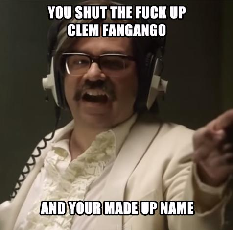 Yes, I can hear you Clem Fandango