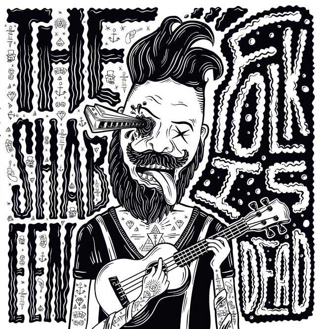 The Shabeen - Folk is Dead album cover