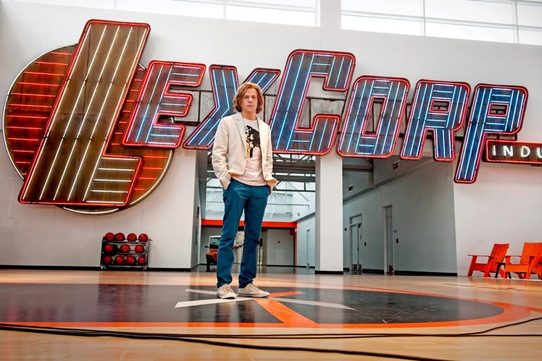 Jesse Eisenberg as Lex Luthor in Batman v Superman: Dawn of Justice