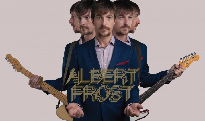 Albert Frost - The Wake Up album cover