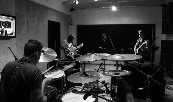 ISO in studio recording Polydimension. Picture by Alex Parker.