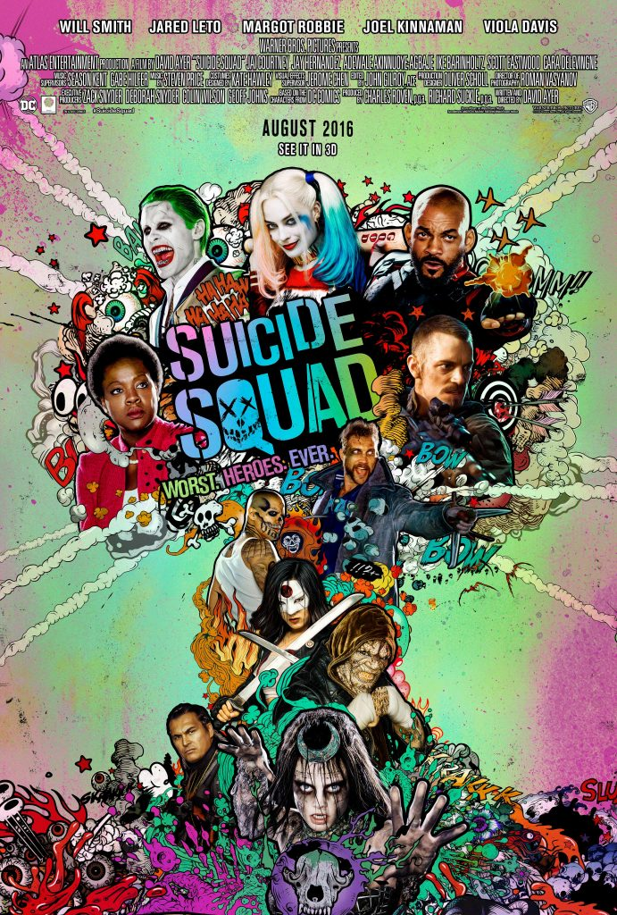 Suicide Squad poster. (c) 2015 Warner Bros. Entertainment. All Rights Reserved.
