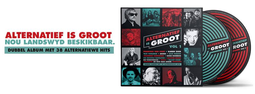 Alternatief Is Groot CDs
