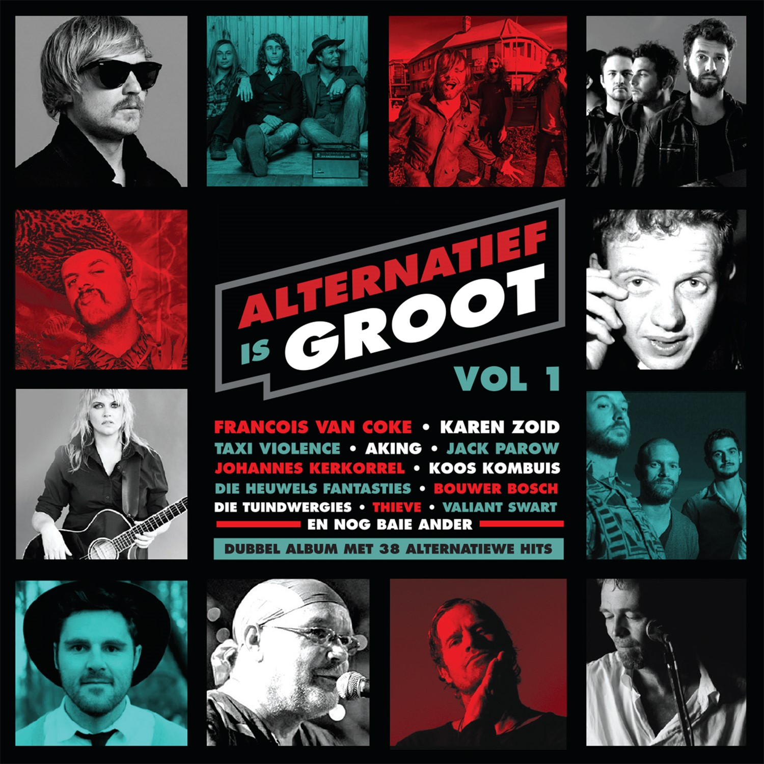 Alternatief Is Groot CD Cover