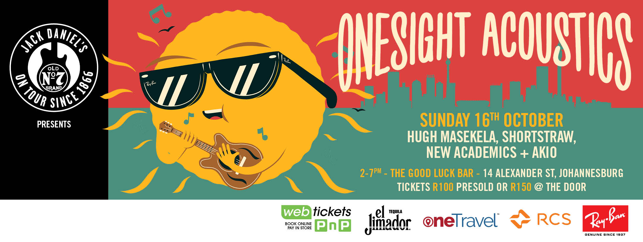 GIVEAWAY: OneSight Acoustics with Hugh Masekela, Shortstraw, New Academics & Akio Kawahito