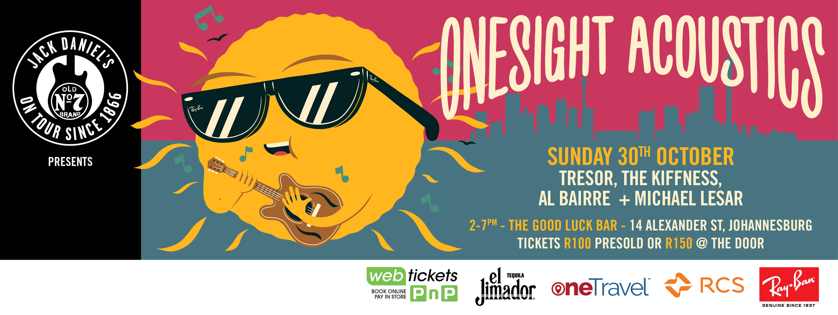 GIVEAWAY: OneSight Acoustics with Tresor, Al Bairre, Michael Lesar, and The Kiffness