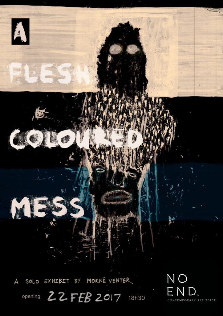 A Flesh Coloured Mess Poster