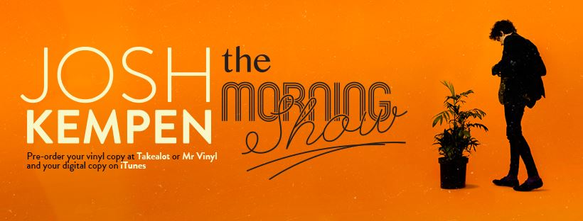 Josh Kempen - The Morning Show Facebook Banner