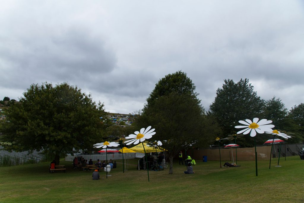 Flower Umbrellas at The Republic of Mieliepop 2017