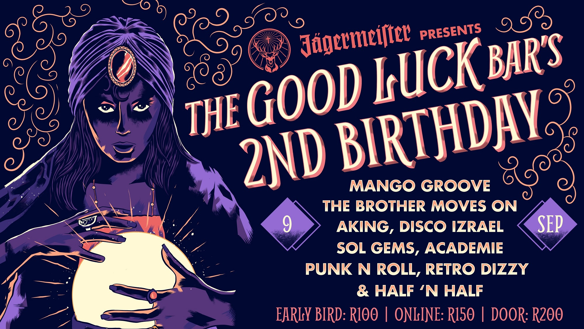 The Good Luck Bar 2nd birthday party