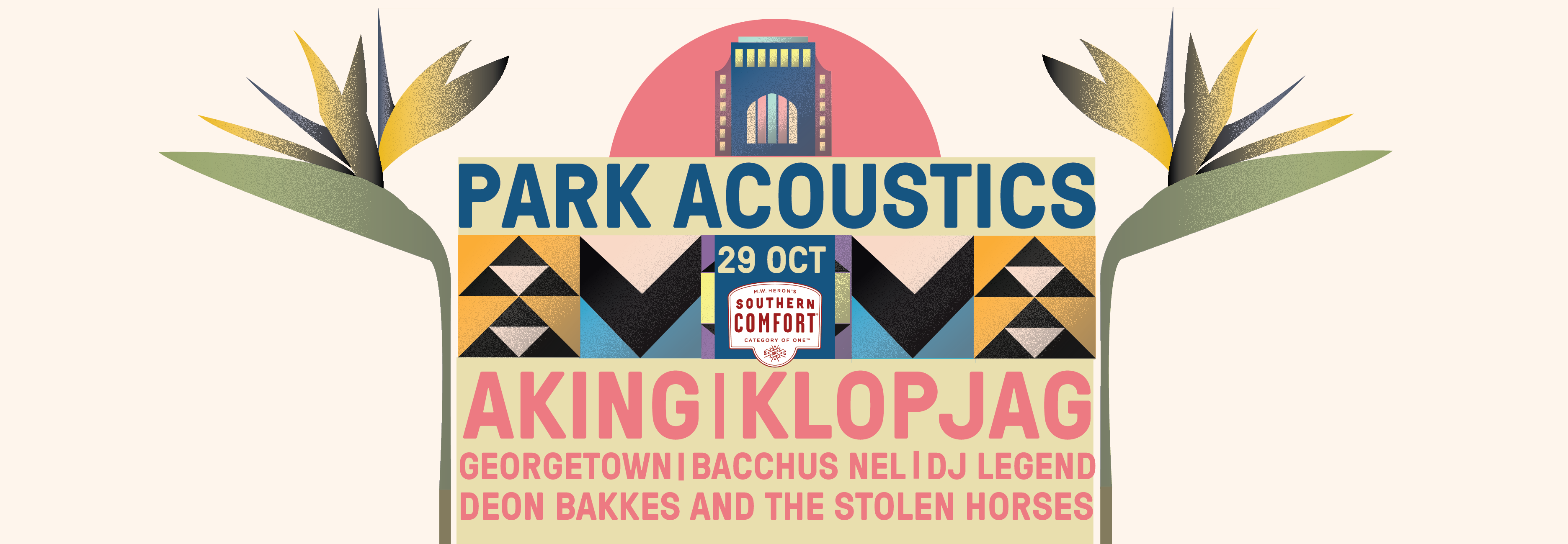 GIVEAWAY: Park Acoustics October 2017 Ticket Giveaway