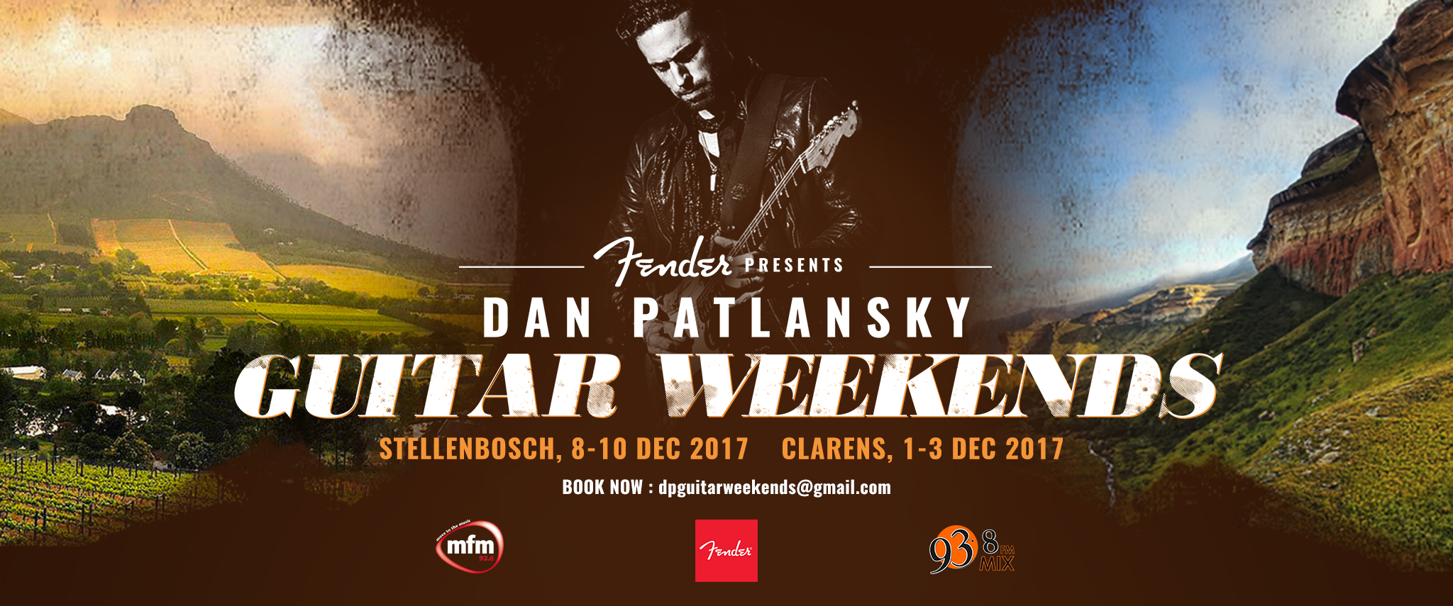 Dan Patlansky Guitar Weekends coming to Stellenbosch
