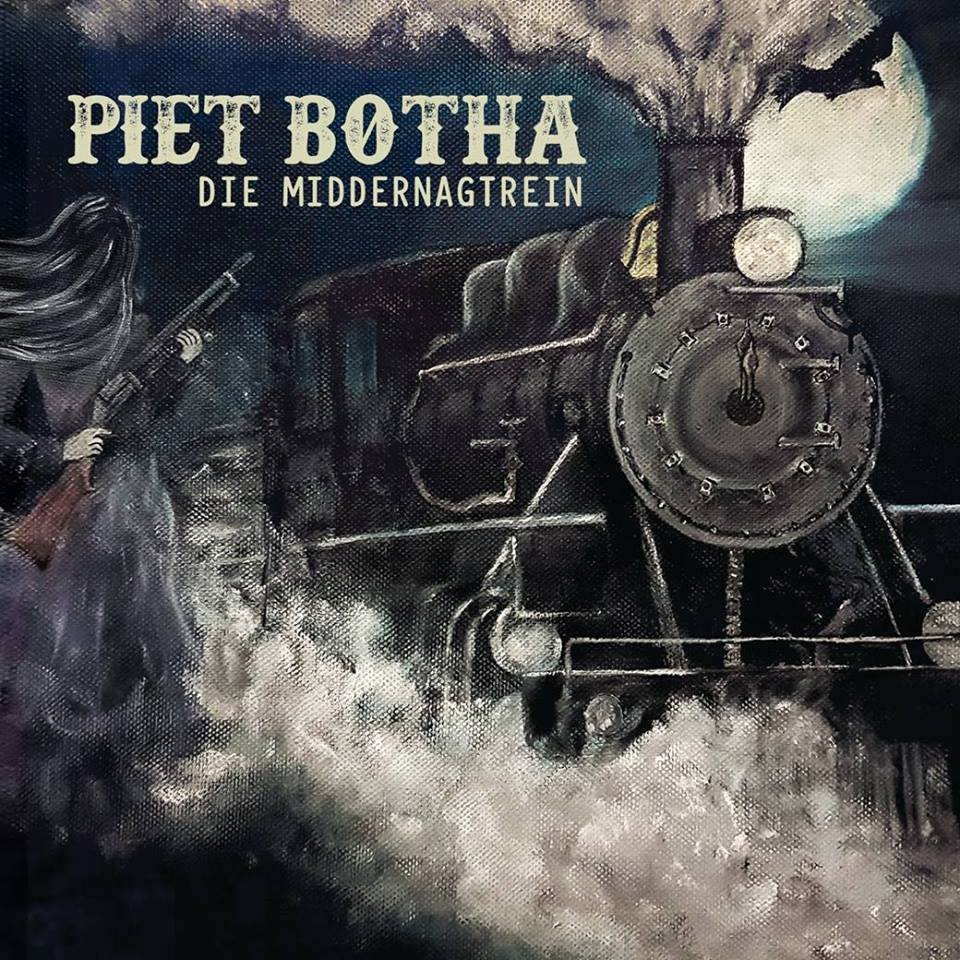 Piet Botha - Die Middernagtrein album cover