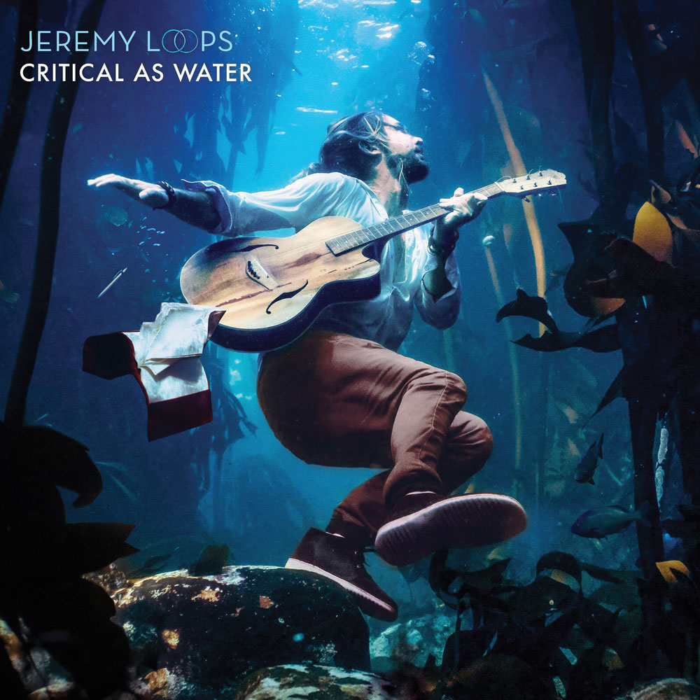 Jeremy Loops - Critical As Water cover art