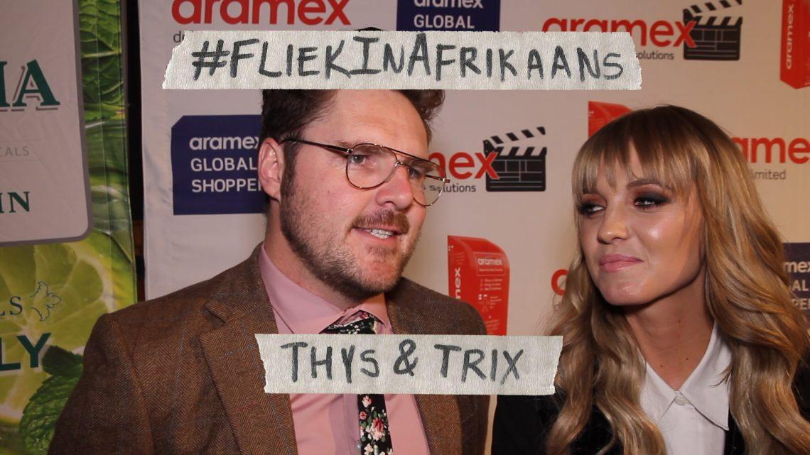 VIDEO: Thys en Trix Premiere: #FliekInAfrikaans op die rooi tapyt