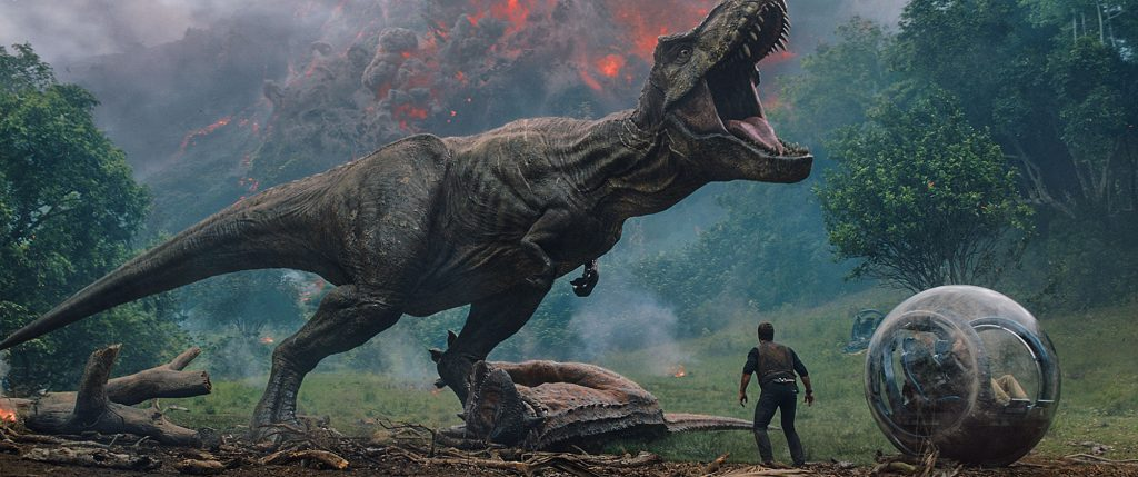 Jurassi World: Fallen Kingdom. (C) Universal Studios and Amblin Entertainment, Inc. and Legendary Pictures Productions, LLC.