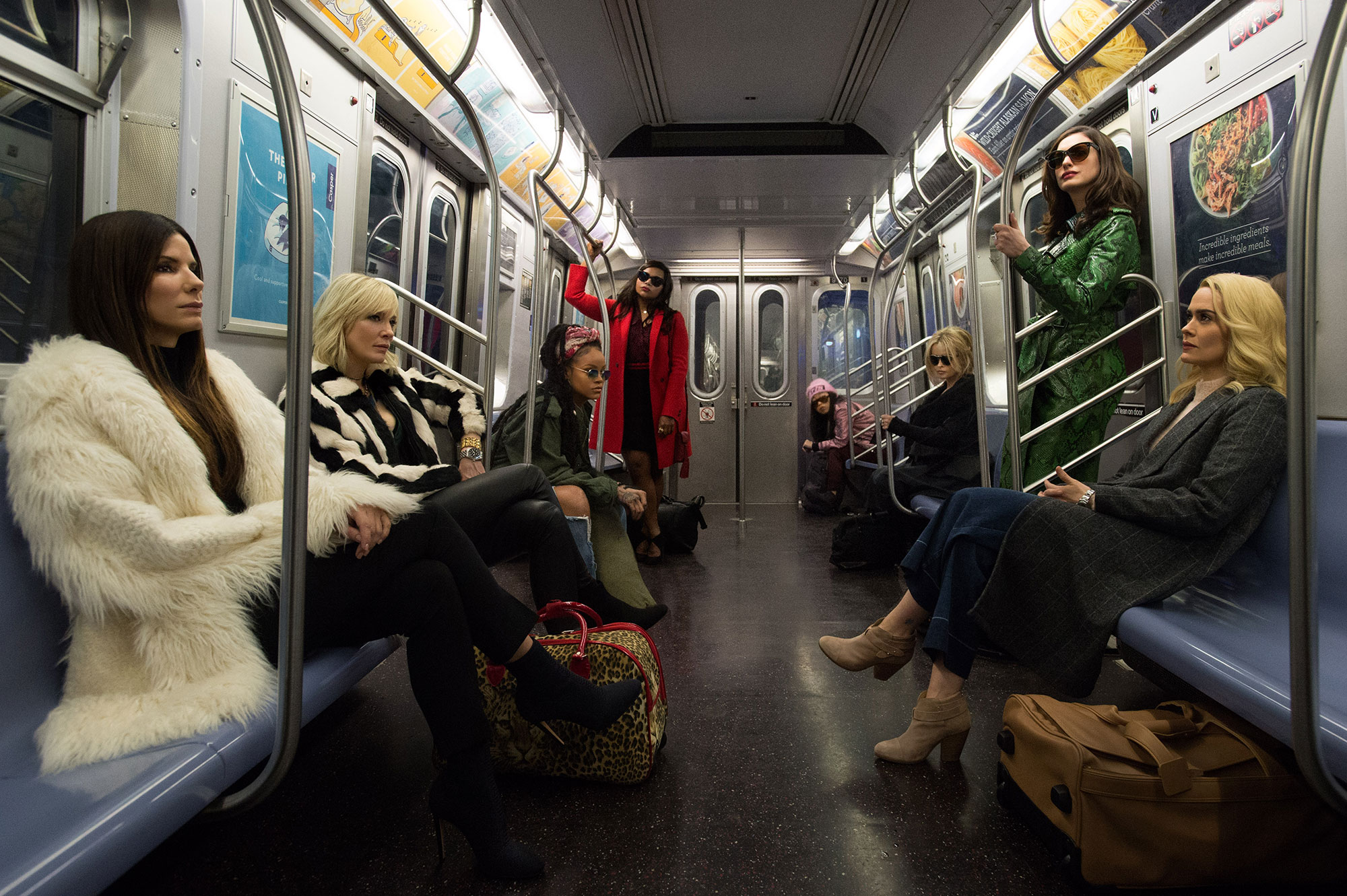 Ocean's 8 has a head for numbers