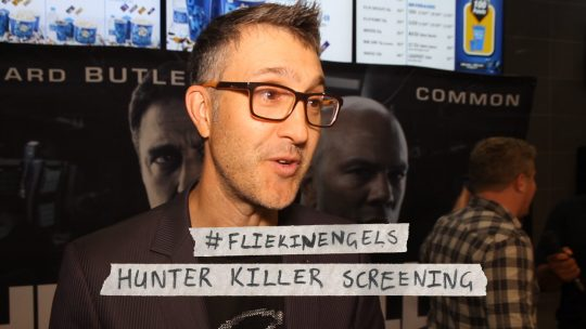 Hunter Killer – Red Carpet interviews