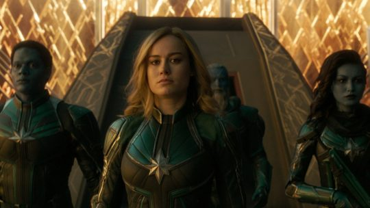Captain Marvel delivers the goods, but fails to astonish