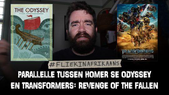 Paralelle tussen Homer se Odyssey en Transformers  Revenge of the Fallen
