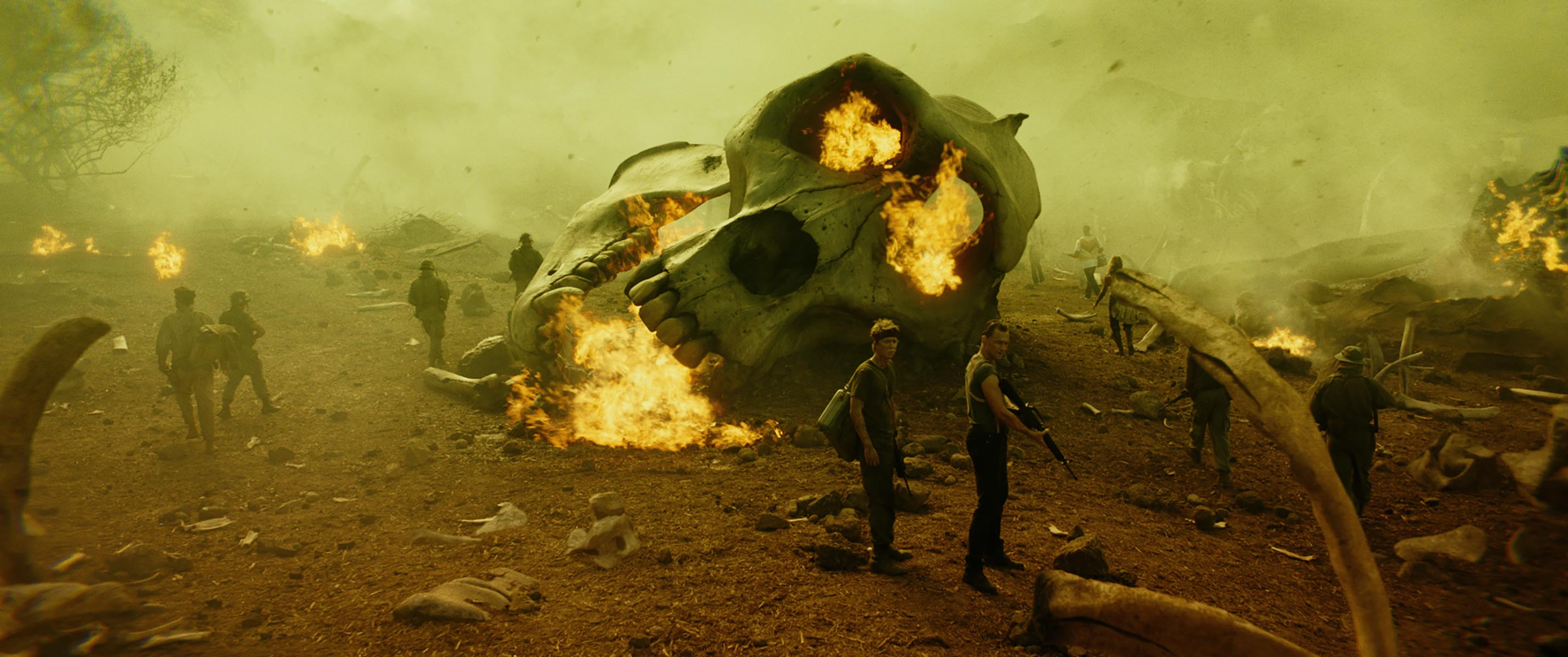 Going bigger and bloodier, Kong: Skull Island