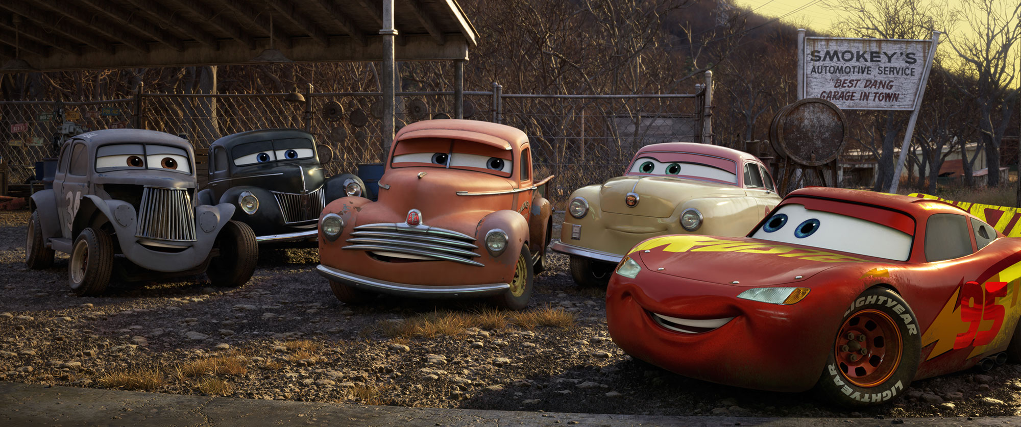 A kids' movie about retirement: Cars 3
