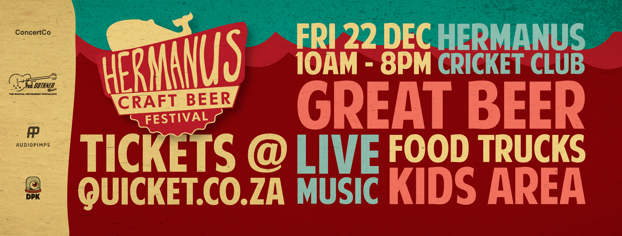 GIVEAWAY: Hermanus Craft Beer Festival tickets