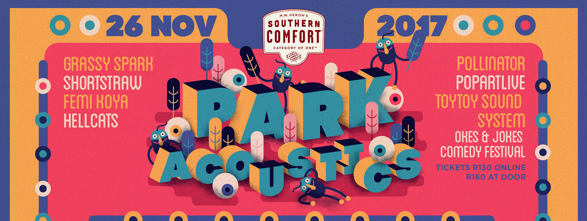 GIVEAWAY: Park Acoustics November Tickets